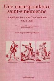 Correspondance Saint Simonienne - Couverture - Format classique
