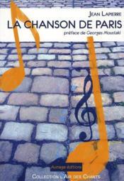 La chanson de Paris - Couverture - Format classique