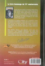 Bob marley collector - 4ème de couverture - Format classique