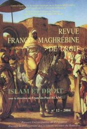 Islam Et Droit - Couverture - Format classique