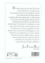Revue Commentaire N.114 - 4ème de couverture - Format classique