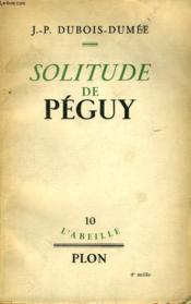 Solitude De Peguy - Couverture - Format classique