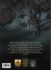 Wollodrïn T.3 ; Le Convoi T.1 - 4ème de couverture - Format classique