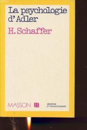 La Psychologie D'Adler - Couverture - Format classique