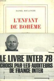 L'Enfant De Boheme. - Couverture - Format classique