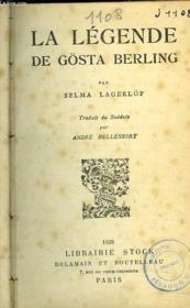 La Legende De Gösta Berling - Couverture - Format classique
