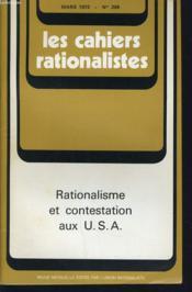 LES CAHIERS RATIONALISTES n°299 : Rationalisme et constestation aux U.S.A - Couverture - Format classique