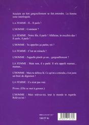 Cinq Télencéphales - 4ème de couverture - Format classique