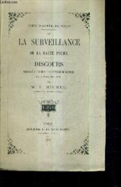 Cour D'Appel De Caen / De Surveillance De La Haute Police / Discours Prononce A L'Audience Solennelle De Rentree Du 4 Novembre 1884 (Plaquette). - Couverture - Format classique