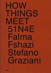 How things meet 51n4e, falma fshazi, stefano graziani - Couverture - Format classique