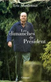 Les dimanches du president - Couverture - Format classique