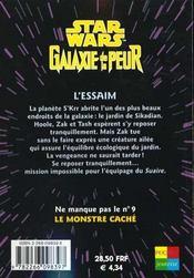 Galaxie De La Peur T.8 ; Essaim - 4ème de couverture - Format classique
