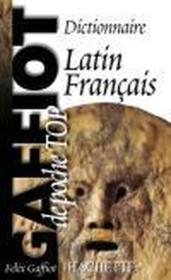 Gaffiot poche top ; dictionnaire latin-français - Couverture - Format classique