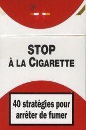 Cartes stop à la cigarette - Intérieur - Format classique