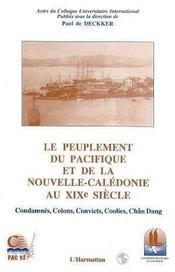 Le peuplement du Pacifique et de la Nouvelle-Calédonie au XIX siècle - Intérieur - Format classique