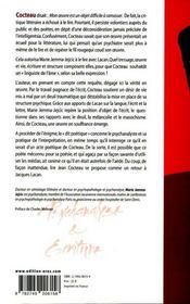 Jean Cocteau ou l'énigme du désir ; ce que le poète apprend au psychanalyste - 4ème de couverture - Format classique