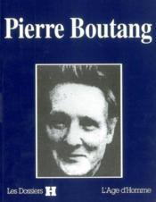 Pierre Boutang - Couverture - Format classique