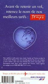 Canaries 2000, Le Petit Fute (Edition 2) - 4ème de couverture - Format classique