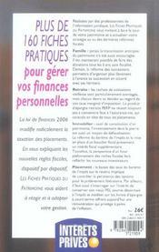 Les Fiches Pratiques Du Patrimoine (Edition 2006) - 4ème de couverture - Format classique