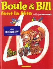 Boule Et Bill.. Boule & Bill Font La Fête - Intérieur - Format classique