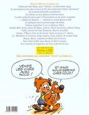 Boule Et Bill.. Boule & Bill Font La Fête - 4ème de couverture - Format classique