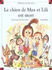 Le chien de Max et Lili est mort - Intérieur - Format classique