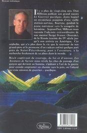 Les aventures de socrate - 4ème de couverture - Format classique