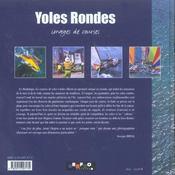 Yoles rondes - images de courses - 4ème de couverture - Format classique