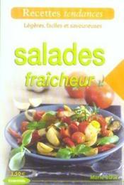 Salades fraicheur - Couverture - Format classique