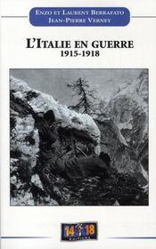 L'italie en guerre 1915-1918 - Intérieur - Format classique