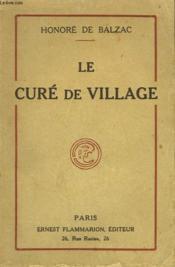 Le Cure De Village. - Couverture - Format classique