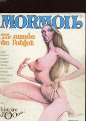Mormoil N°6 - 75 : Annee De L'Objet - Couverture - Format classique