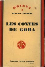 Les Contes De Goha - Couverture - Format classique