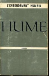 HUME enquête sur l'entendement humain - Couverture - Format classique