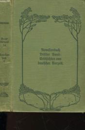 Novellenbush 3. Band Gelchichten Aus Deutlcher Borzeit - Couverture - Format classique
