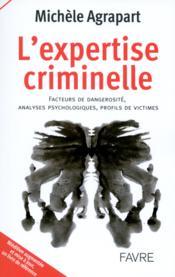 L'expertise criminelle - Couverture - Format classique