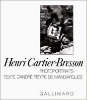 Photoportraits - Couverture - Format classique