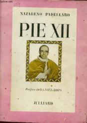 Pie Xii - Couverture - Format classique