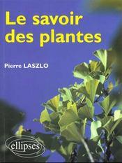 Le Savoir Des Plantes - Intérieur - Format classique