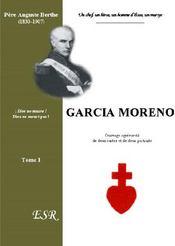 Garcia Moreno - Couverture - Format classique