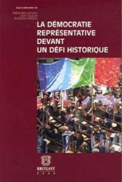 La démocratie représentative devant un défi historique - Couverture - Format classique
