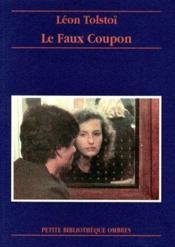 Le faux coupon - Couverture - Format classique