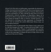 Les Grands Travaux A Paris 1981 1995 - 4ème de couverture - Format classique