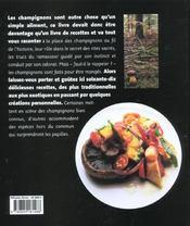 Champignons ; Petites Histoires Et Grandes Saveurs - 4ème de couverture - Format classique