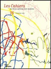 Cahiers Du Mnam N.75 ; Printemps 2001 - Couverture - Format classique