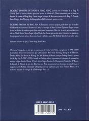 Tigres Et Dragons Du Ring A La Rue - 4ème de couverture - Format classique