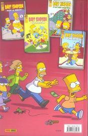 Le grand méchant livre de Bart Simpson - 4ème de couverture - Format classique