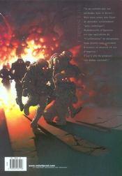 Cross fire t.1 ; opération Judas - 4ème de couverture - Format classique