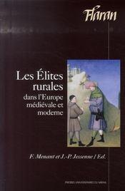 Les élites rurales dans l'Europe médiévale et moderne - Intérieur - Format classique