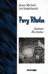 Perry Rhodan Lecture D'Une Oeuvre - Couverture - Format classique